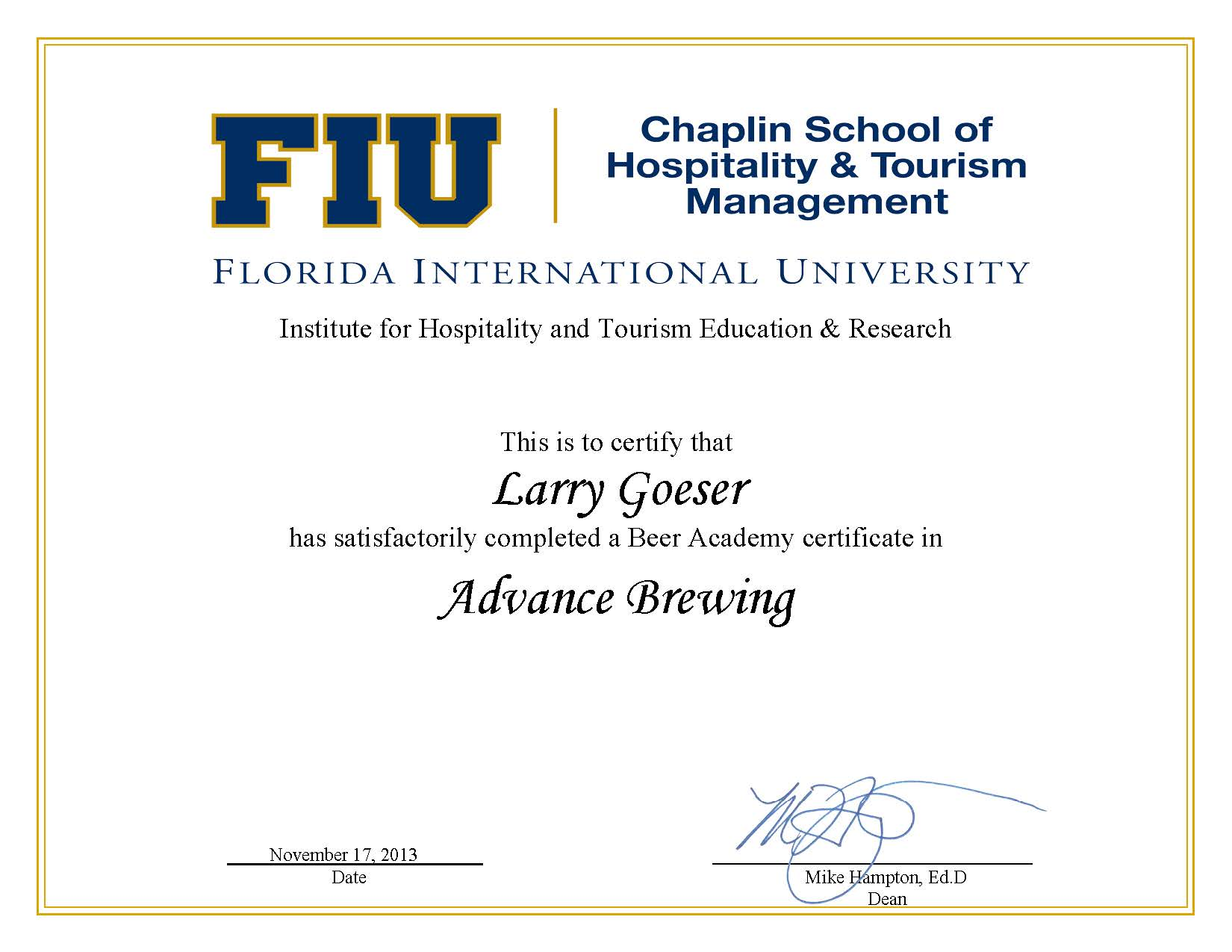Craft beer promotion craft beer events tastings and festivals i received a certificate and will pursue more brewing opportunities i got some hands on brewing experience and learned that home brewers are resourceful xflitez Image collections